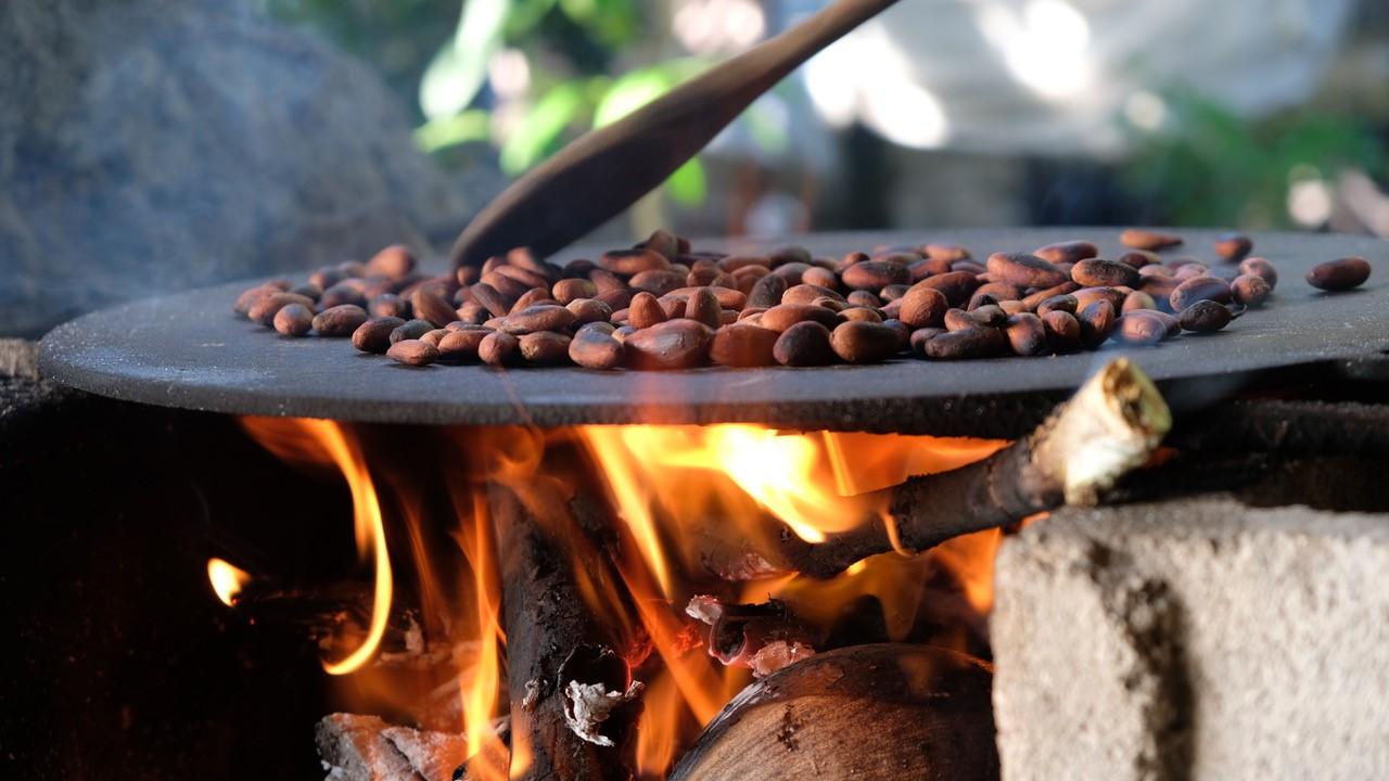 Kakao rösten